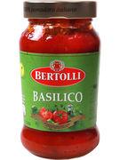 BERTOLLI SAUCE TOMATE BASILIC 400GR (OV 6)