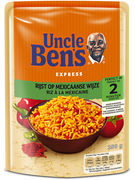 UNCLE BEN S EXPRESS MEXICAIN POUCH 250GR