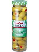 SACLA OLIVE VERDI FARCITE 140GR  (OV15)