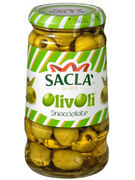 SACLA OLIVE VERDI SNOCCIOLATE 290GR (OV 12)