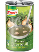 KNORR POTAGE CERFEUIL + BOULETTES 515ML   (OV 12)