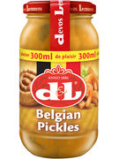 D+L BELGIAN PICKLES VERRE 300ML   (OV 12)