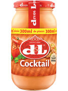 D+L SAUCE COCKTAIL VERRE 300ML  (OV 12)