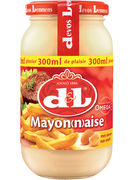 D+L MAYONAISE EI GLAS 300ML (OV 12)