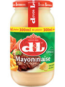 D+L MAYONNAISE CITRON VERRE 300ML   (OV 12)
