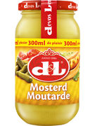 D+L MOUTARDE VERRE 300ML  (OV 12)