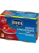 ELVEA DOUBLE CONCENTRE TOMATES 2X140GR   (OV 30)