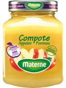 MATERNE COMPOTE DE POMME S/S 350GR (OV8)