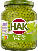 HAK PETITS POIS EXTRA FINS 370ML (OV 12)