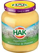 HAK COMPOTE DE POMMES 370ML -360GR (OV 12)