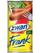 ZWAN SAUCISSES FRANK 6P  (OV 12)