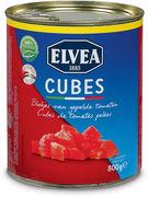 ELVEA TOMATES PELEES EN CUBES 800GR (OV 6)