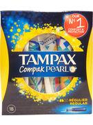 TAMPAX COMPAK PEARL REGULAR 18P (OV 8)