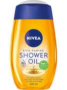 NIVEA NATURAL SHOWER OIL 200 ML (OV12)