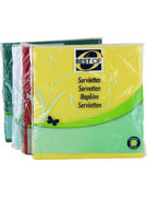 BEST OF SERVIETTES TISSUE 3 PLIS 4 COULEURS 30P (OV 24)
