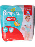 PAMPERS BABY DRY  PANTS 23P  N°4 (OV 3)