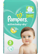 PAMPERS BABY DRY TAILLE 5 11P (OV 8)