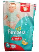 PAMPERS BABY DRY PANTS N°3  44P (OV 2)