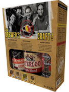 COFFRET BEST OF CRAFT BREWERIES 3X33CL