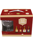 COFFRET CHIMAY ASS. 4X33CL + 1 VERRE GRATIS