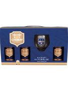 COFFRET CHIMAY BLEUE 6X33CL + 1 VERRE GRATIS