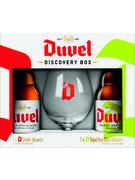 COFFRET DUVEL/TRIPLE 2X33CL + 1 VERRE