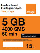 SIM TEMPO GIGA ORANGE 0€