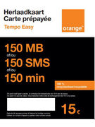 SIM TEMPO EASY ORANGE 0€