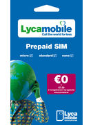 LYCAMOBILE SIM PACK TRIO 0,00€