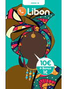 LIBON RECHARGE 10€ + BONUS 1€