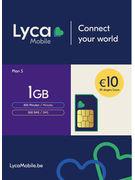 LYCAMOBILE SIM BELGIUM PLAN S 10€