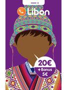 LIBON RECHARGE 20€ + BONUS 5€