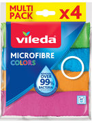 VILEDA LAVETTE MF COLORS 4PACK (OV 10)