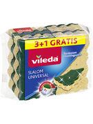 VILEDA EPONGE A RECURER SLALOM UNIV.3+1 4P(OV15)
