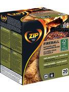 ZIP NATURAL FIREBALL 20P (OV 12)