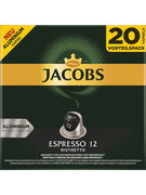 JAC.CAPS ESPRESSO RISTRETTO 104GR 20+2