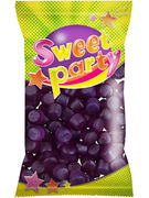 SWEET PARTY AGENTS MAUVES SACHET 100GR