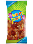 SWEET PARTY SACHET  BOUTEILLE COLA S/S 60GR