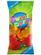 SWEET PARTY SACHET OURSONS S/S 60GR
