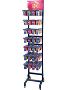 DISPLAY FLOOR STAND BLEU SWEET PARTY CUP - 28 CROCHETS VIDE