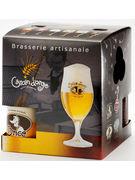 COFFRET LE CUBE GRAIN D ORGE 4X33CL + VERRE