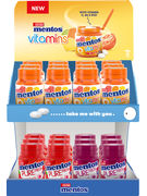 F11/20 DISPLAY MENTOS GUM VITAMINE