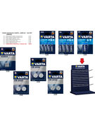 COLIS PILES VARTA 130P + DISPLAY 12 CROCHETS