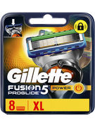 GILLETTE PROGLIDE POWER LAMES 8P