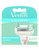 GILLETTE VENUS DELUXE EXTRA SMOOTH SENSITIVE LAME 4CT
