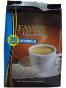 FAVOR COFFEE PADS MILD 36St