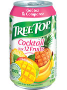 TREE TOP JUS MULTIFRUITS CANS 33CL