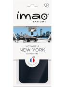 IMAO PLAQUETTE VOYAGE A NEW YORK