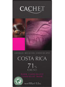 TABLETTE FONDANT COSTA RICA 71% 100GR