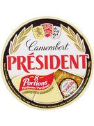 PRESIDENT CAMEMBERT 8P 250G